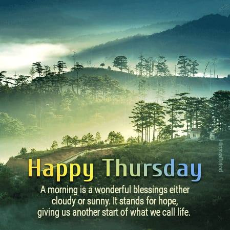 Happy Good Morning Thursday Quotes & Messages images