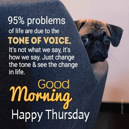 Good Morning Thursday Quotes images for FB status