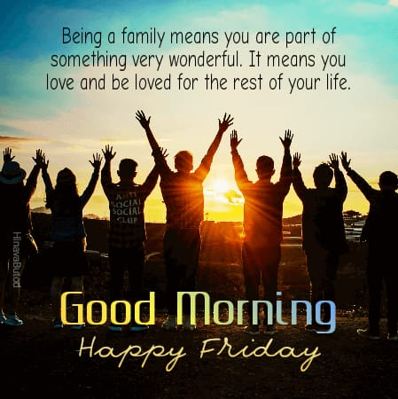Good Morning Friday Messages images for status
