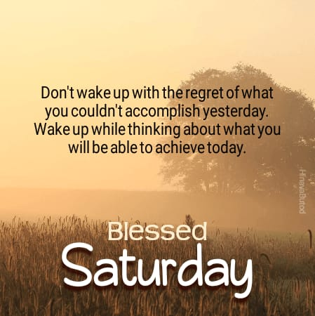 Good Morning Saturday Blesses Quotes images