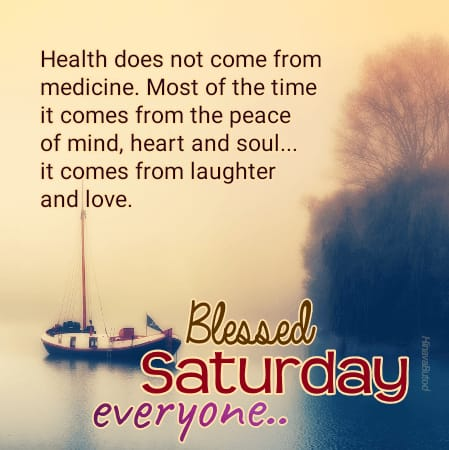 Good Morning Saturday pics with blessing quotes for status