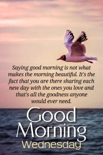 Good Morning Wednesday messages images