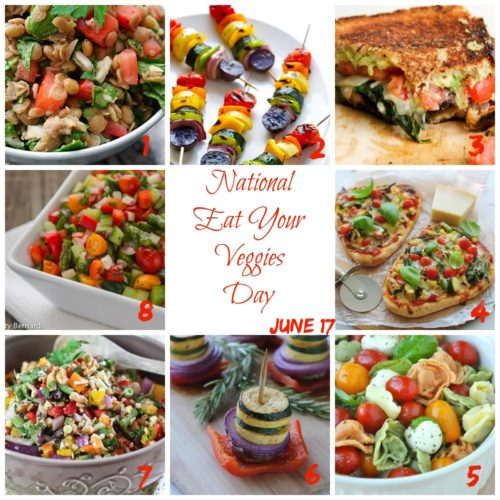 National Eat Your Vegetables Day 17 June