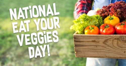 National Eat Your Vegetables Day greeting images