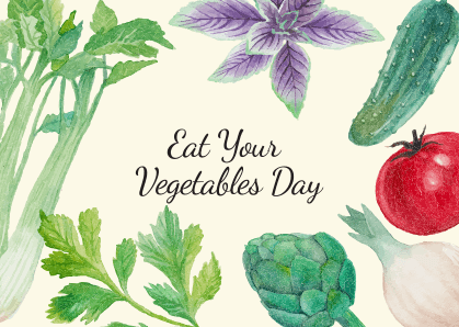 National Eat Your Vegetables Day images