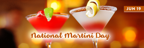 National Martini Day wishes images