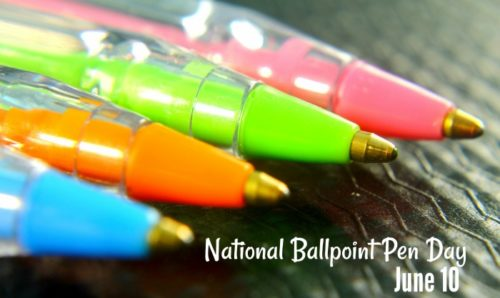 National Ballpoint Pen Day 2020 Wishes