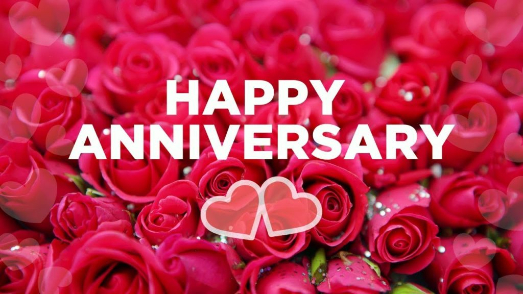 happy wedding anniversary greeting images for FB status