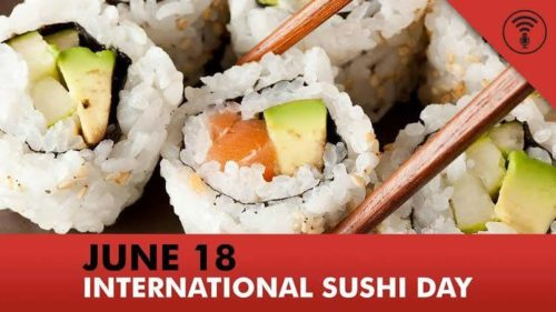 International Sushi Day 2020 wishes Images 18 June