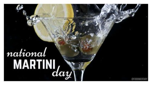 19 June National Martini Day Images
