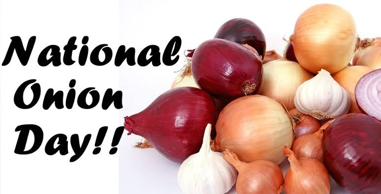National Onion Day Wishes images for status