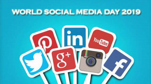 Happy World Social Media Day 2020 images