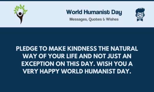 World Humanist Day 2020 greeting Quotes images
