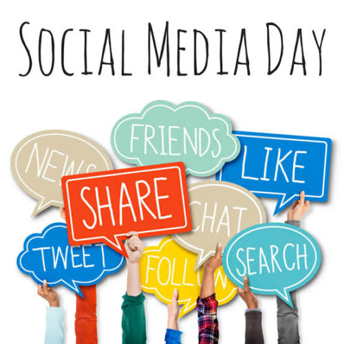 Download World Social Media Day 2020 images