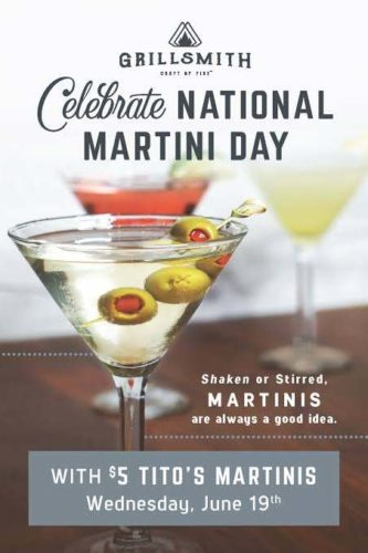 National Martini Day 2020 wishes images