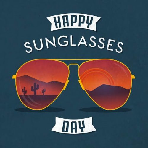 National Sunglasses Day wishes images
