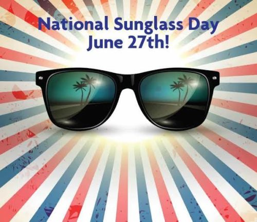 National Sunglasses Day wishes images for status   27 June