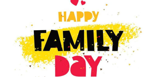 Happy Family Day wishes photos