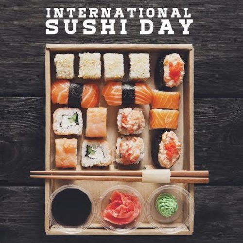 Happy International Sushi Day wishes photos