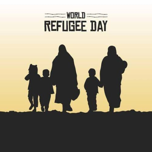 World Refugee Day 2020 greeting photos
