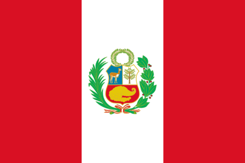 Happy Peru Flag Day greeting images