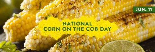 National Corn on the Cob Day wishes images for status