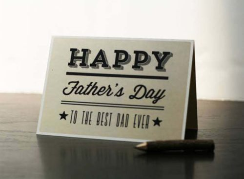 Happy Fathers Day greeting photos & Images