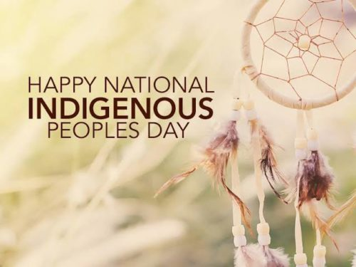 National Indigenous Peoples Day 2020 greeting images