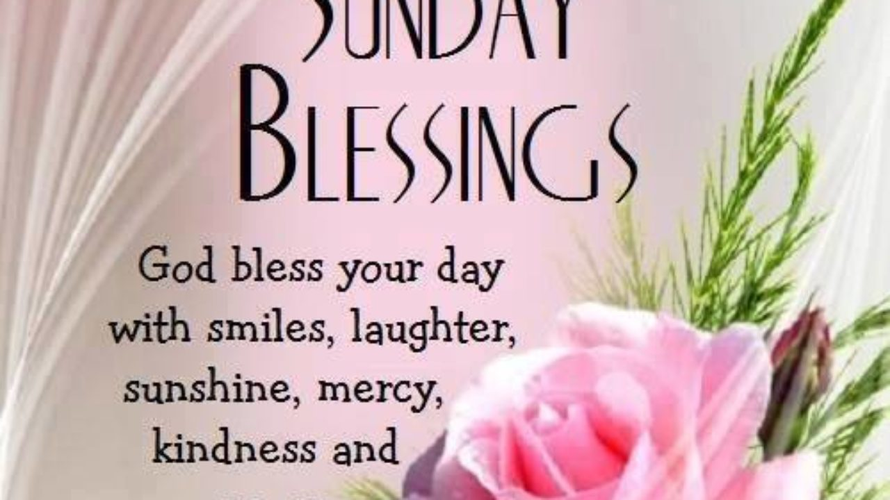 Good Morning Sunday Blessing Quotes Status Pictures