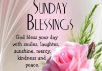 Sunday Blessing Good Morning Quotes