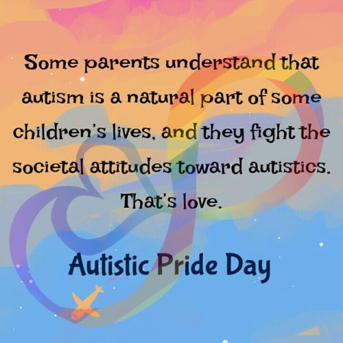 Autistic Pride Day 2020 Messages