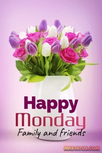 Happy Monday Morning wishes images for status and DP