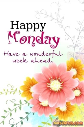 Happy Monday Morning wishes images