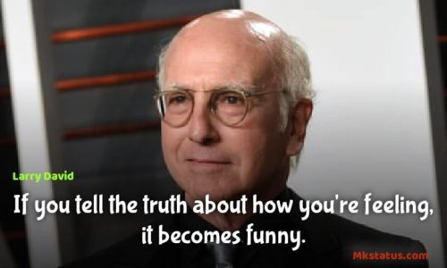 American actor Larry David Quotes images for status