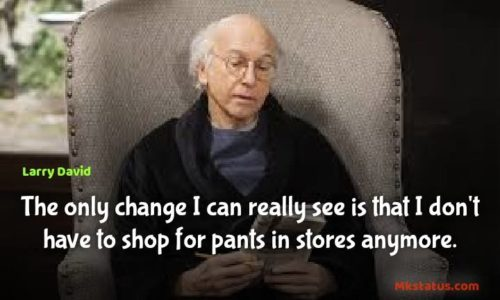 American comedian Larry David Quotes images