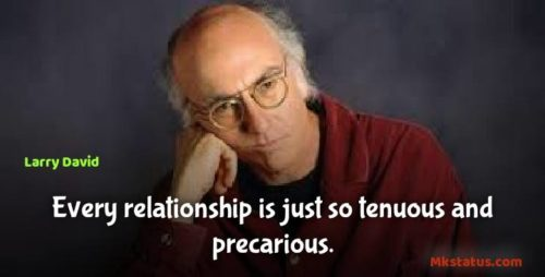 American comedian Larry David Quotes images for status