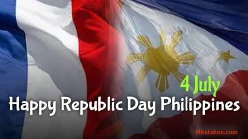 4 July Happy Republic Day Philippines 2020 images