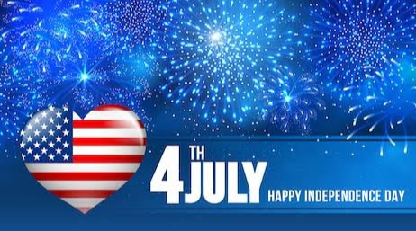 Happy 4th of July   Happy Independence Day USA