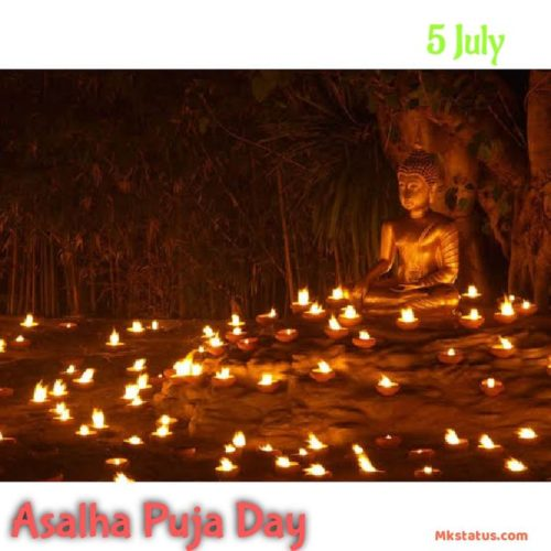 5 July | Asalha Puja Day 2020 Wishes images