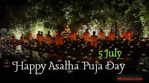 5 July | Asalha Puja Day 2020 greeting images