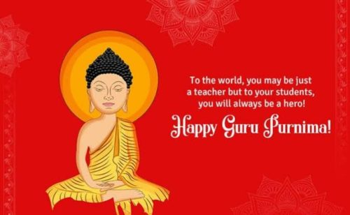Happy Guru Purnima Wishes Quotes images in English | 5 July