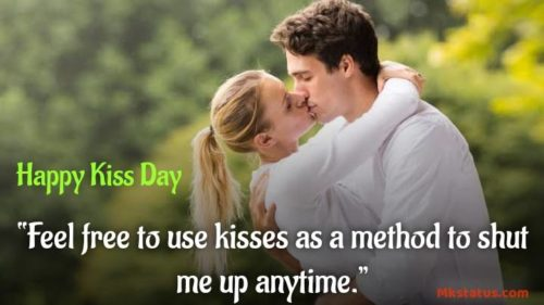 International Kiss Day wishes Quotes images