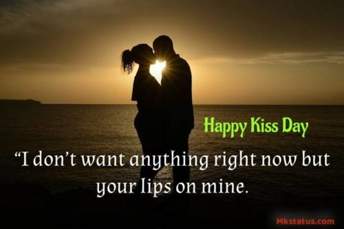 Happy Kiss Day 2020 Quotes images