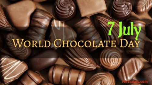 7 July World Chocolate Day 2020 wishes images