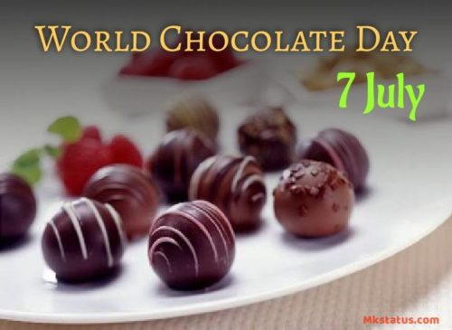 Happy World Chocolate Day 2020 wishes photos
