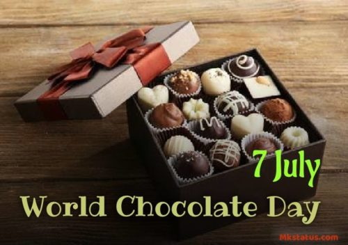 World Chocolate Day 2020 wishes images for status