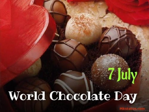 World Chocolate Day 2020 wishes images for FB status