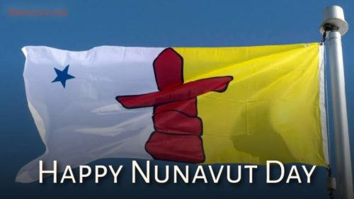 Happy Nunavut Day wishes images | 9 July
