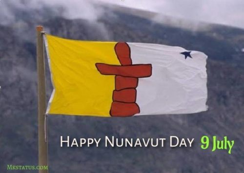 Happy Nunavut Day greeting images
