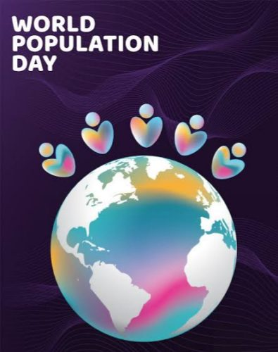 World Population Day new images